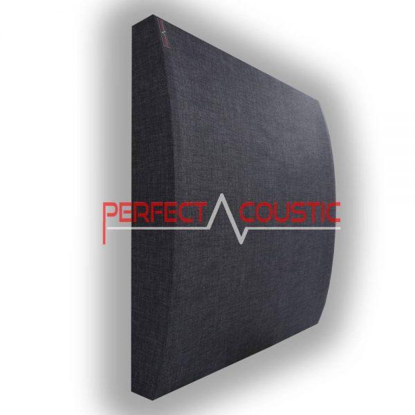 3d panel dark grey
