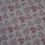 8 heart patterned