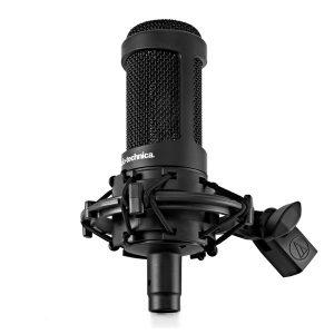 AT studio microphone