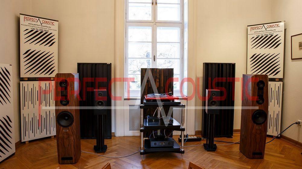 Acoustic panel in Barabás villa. (2)