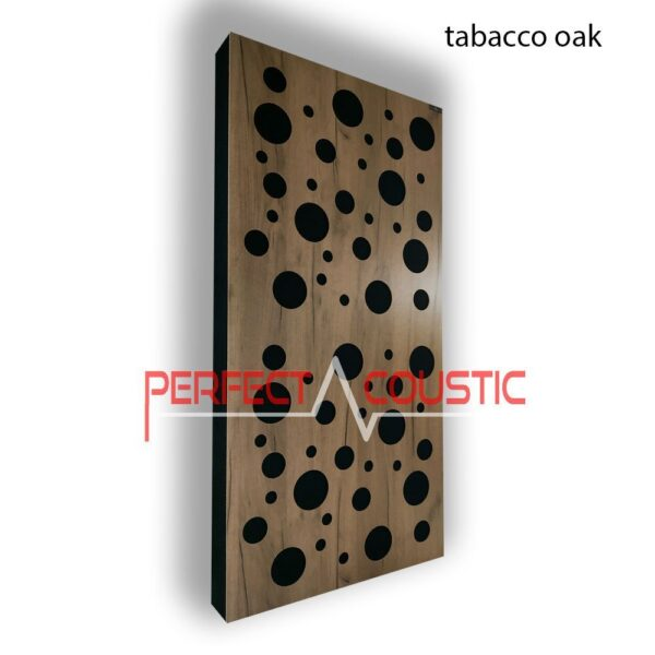Acoustic panel with diffuser patterns