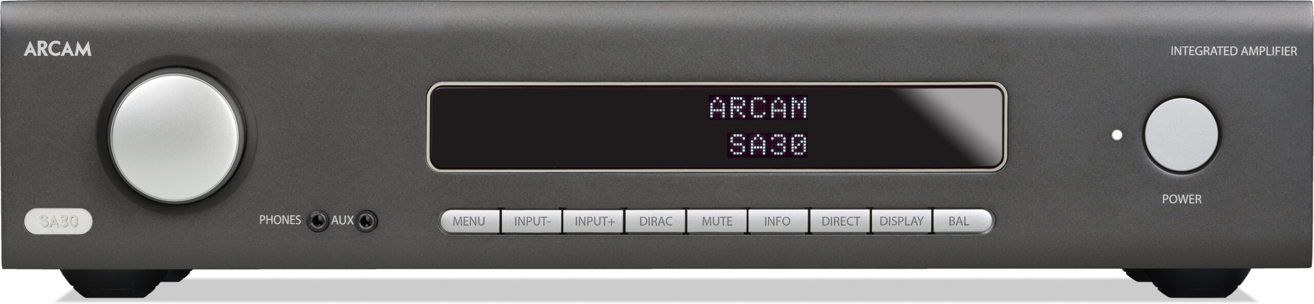Arcam-SA30-amplifier-front panel