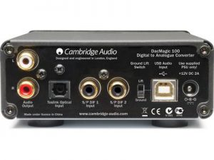 Cambridge Audio Dacmagic 100 back panel