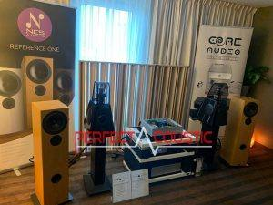 Core Audio hifi show, acoustic absorber presentation