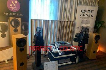 Core Audio hifi show, acoustic absorber presentation