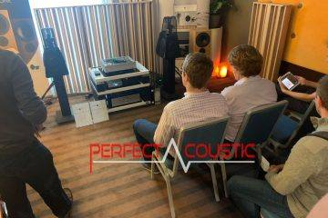 Core Audio hifi show, presentation of acoustic panels (2)