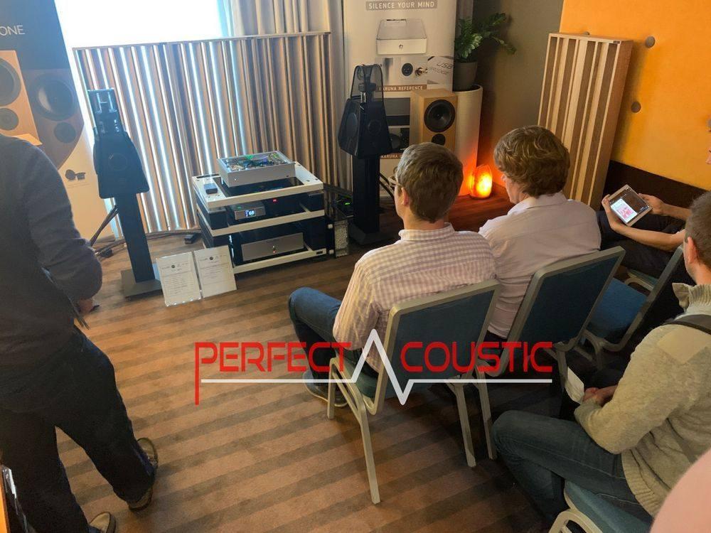 Core Audio hifi show, presentation of acoustic panels (2)