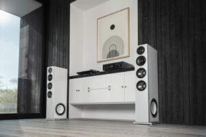 D15-speakers in room