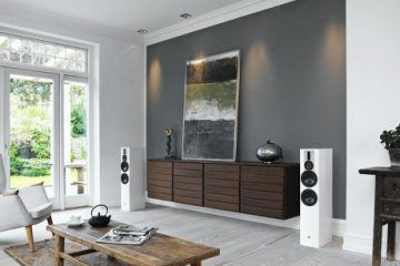 Dali Rubicon 6 floorstanding speaker in room