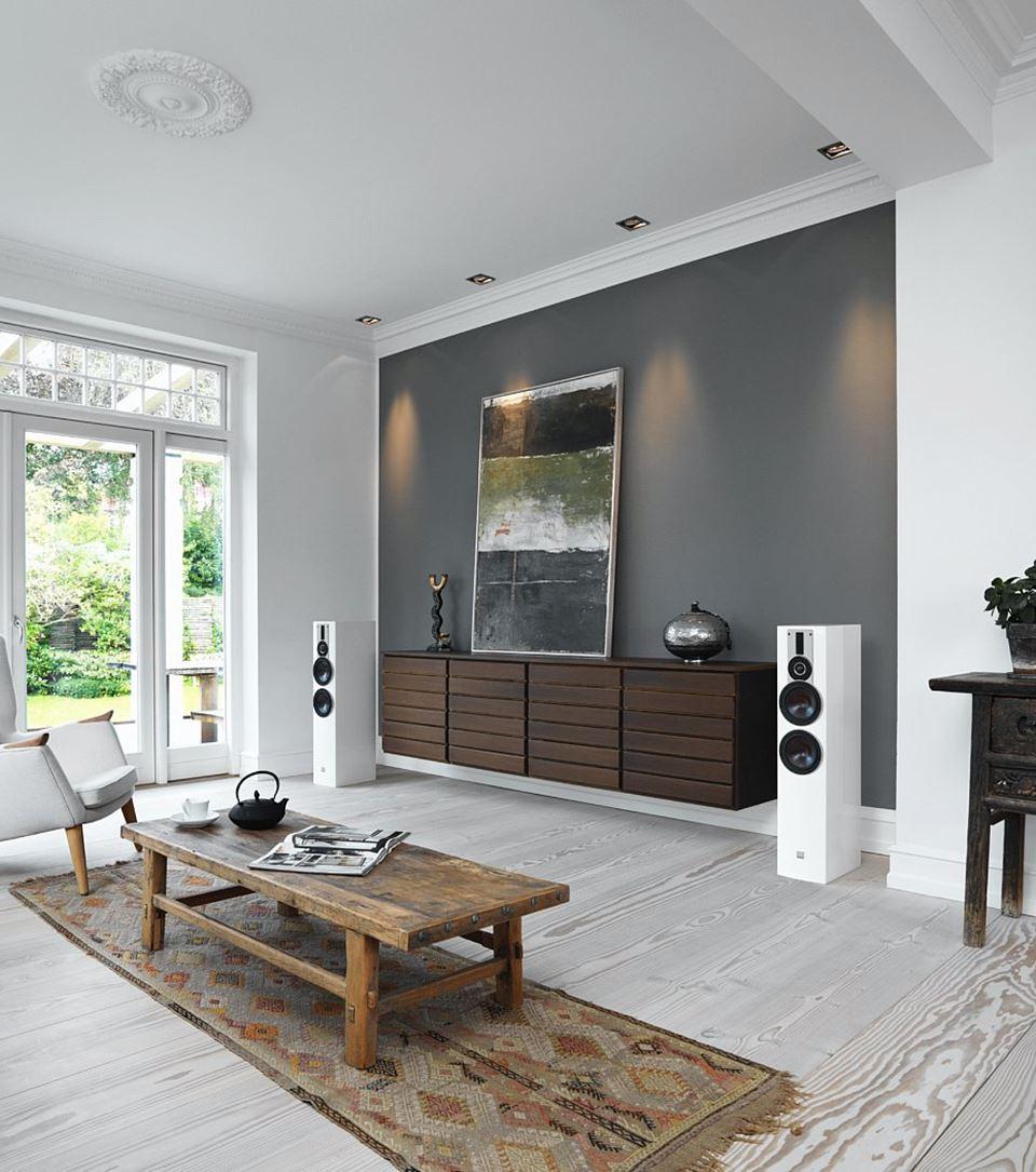 Dali Rubicon 6 floorstanding speakers full size