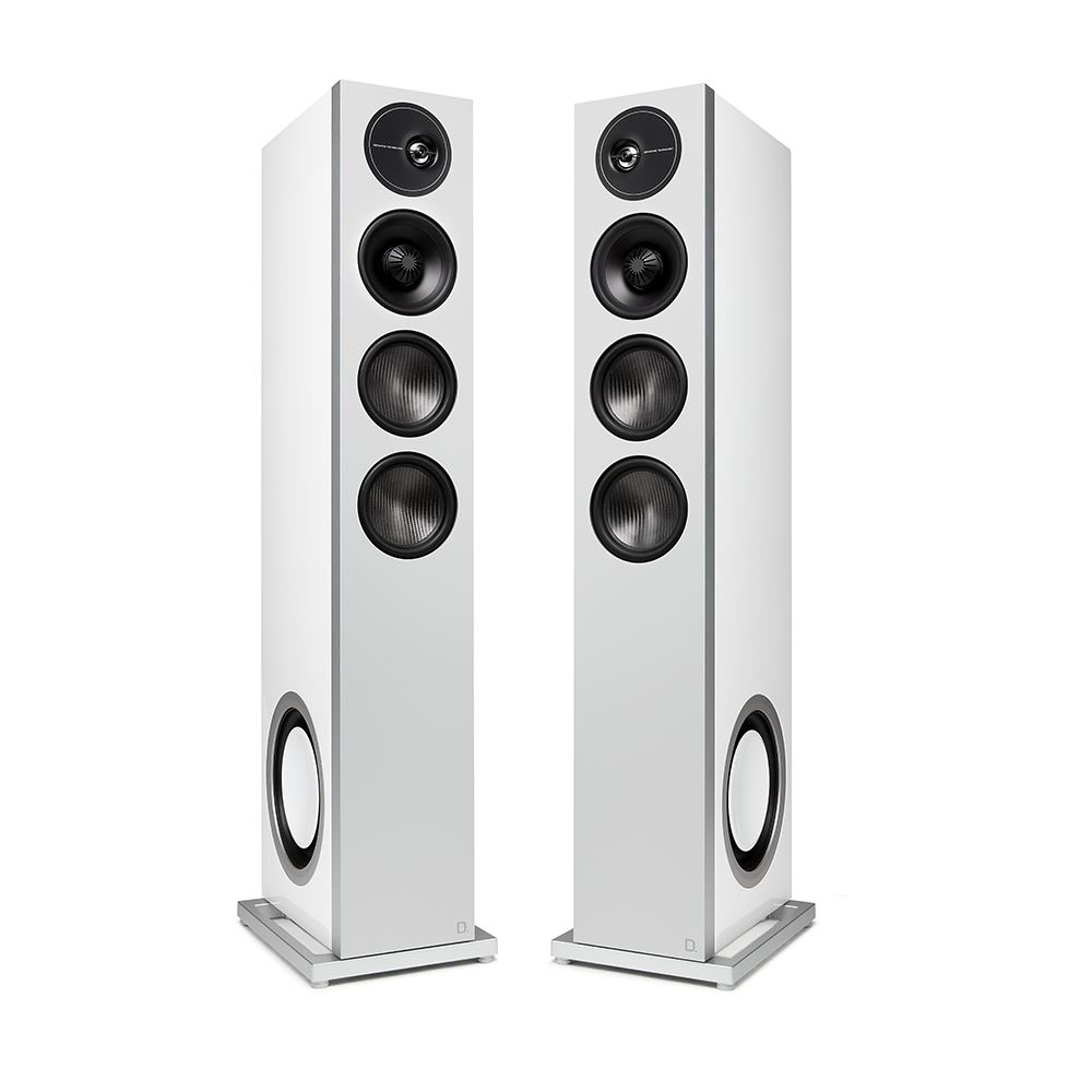 Definitive-Technology-D15-white-tower-loudspeakers