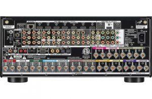 Denon AVC X8500H back panel
