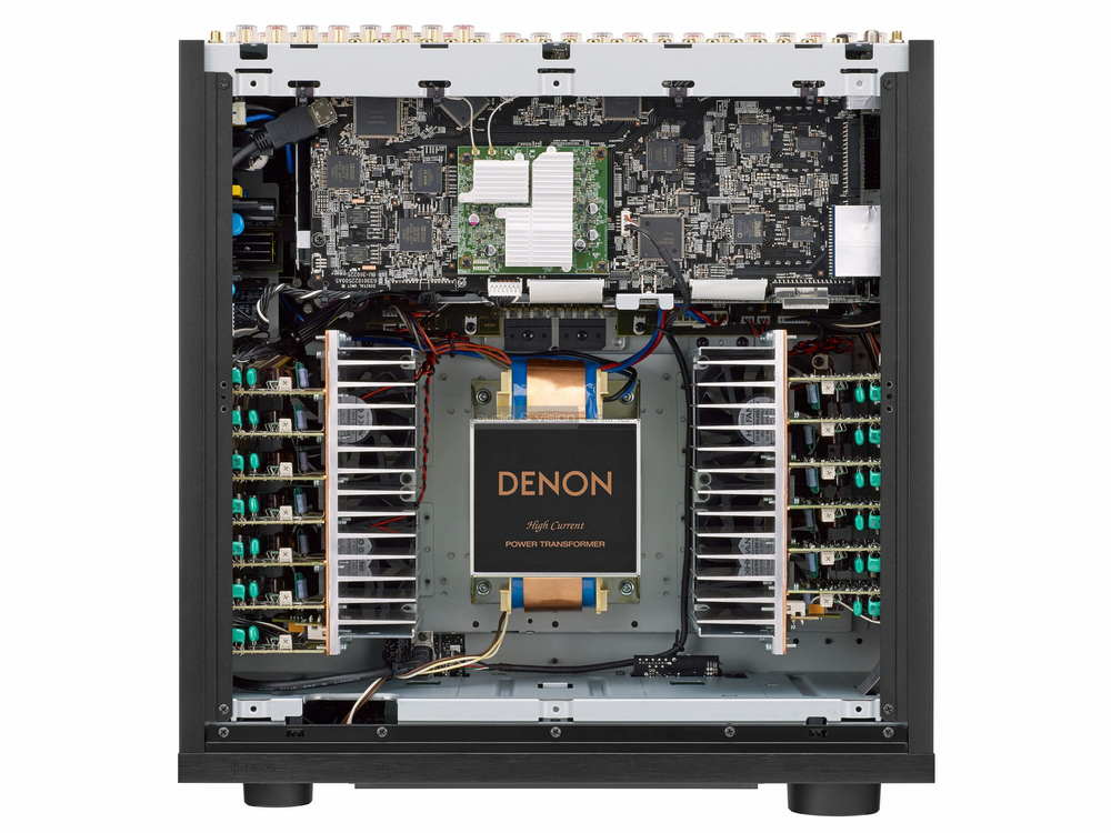 Denon AVC-X8500H inside