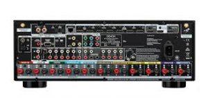 Denon AVR-X3600H back panel