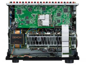 Denon AVR-X3600H inside