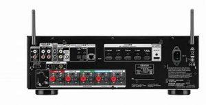 Denon-S650 back panel