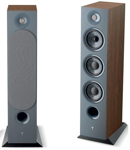 Focal-Chora-826-standing speakers-walnut