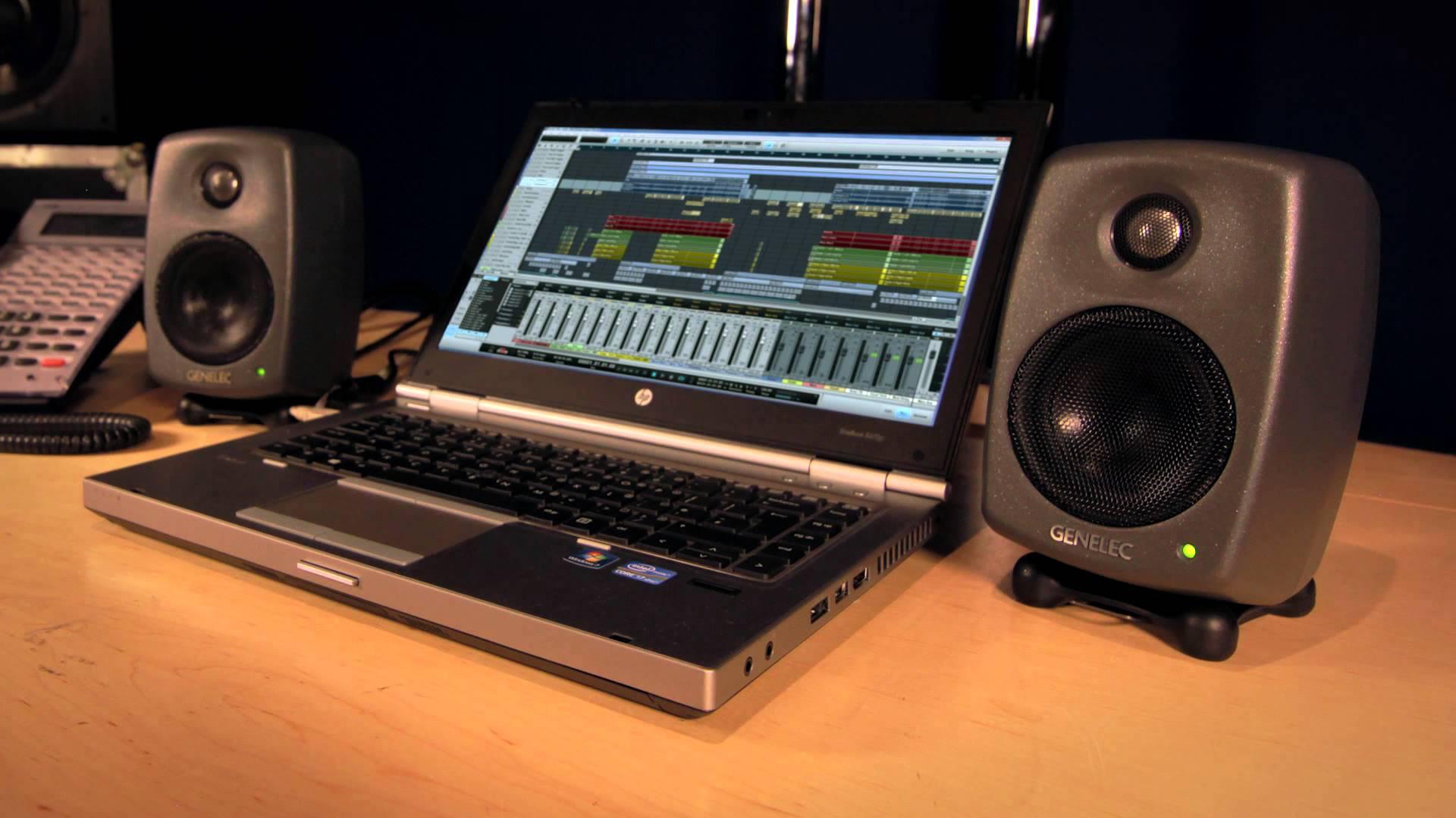 Genelec-8010A monitors