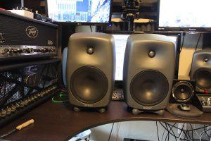 Genelec studio speakers
