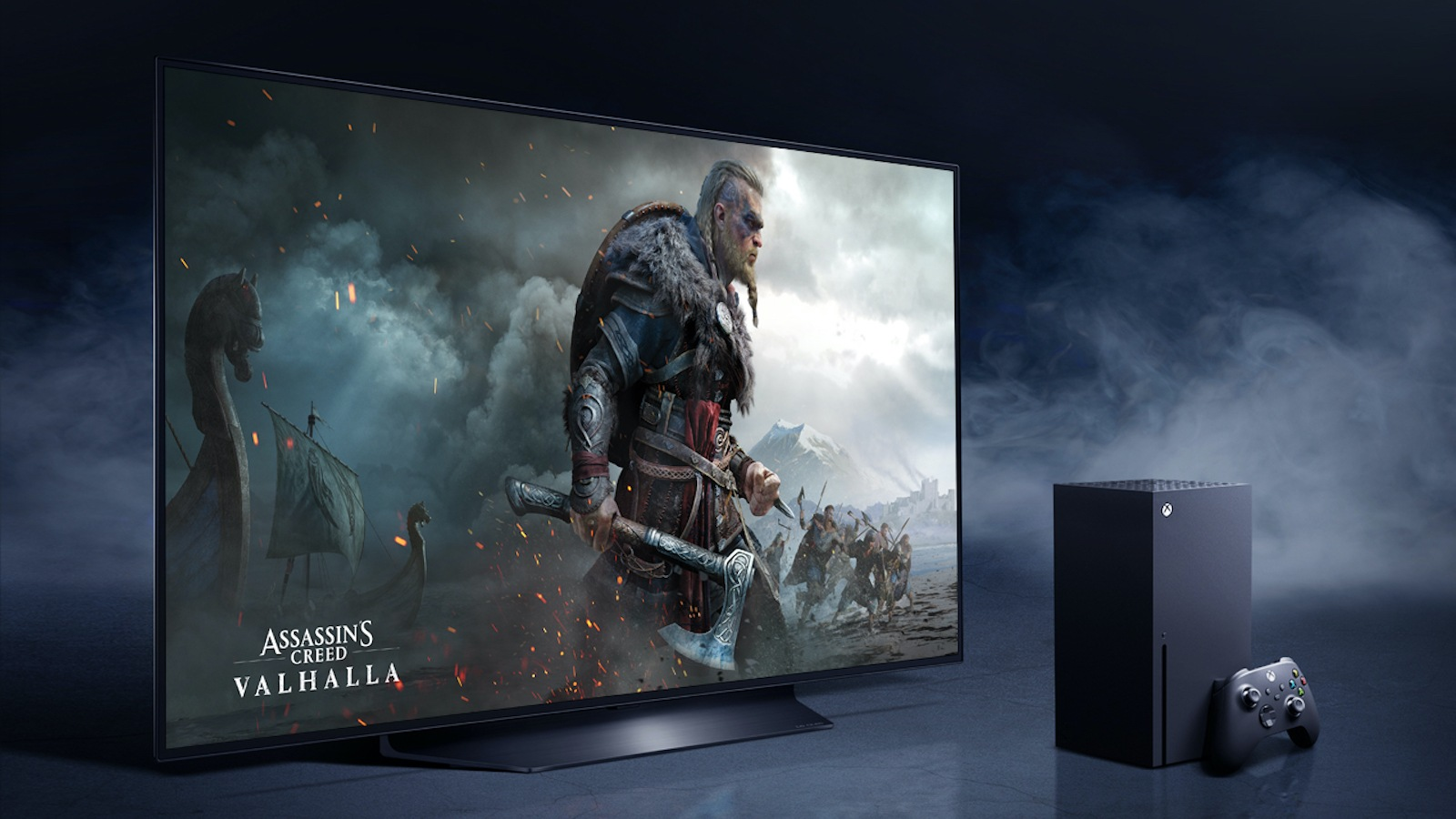 LG-OLED-and-XBOX-game consol