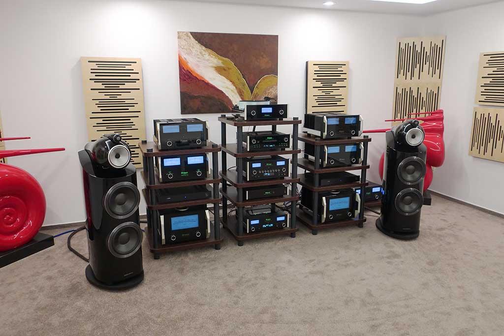 MCINTOSH MC462 amplifier