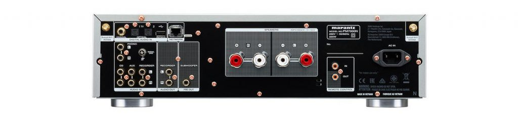 Marantz PM7000N back panel