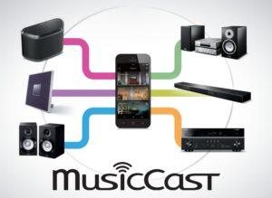MusicCast-application