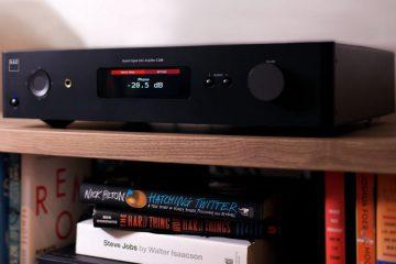 NAD C368 amplifier