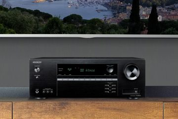 Onkyo TX-SR393 amplifier
