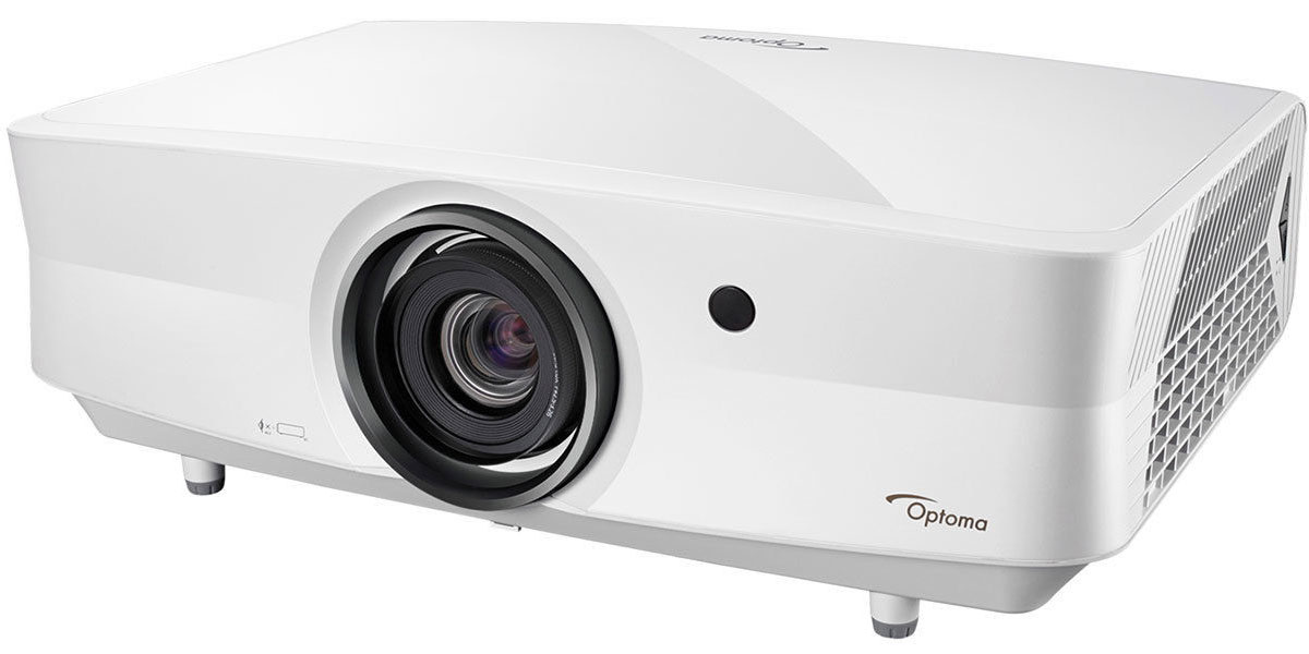 Optoma-UHZ65LV projector white