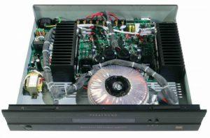 Parasound amplifer inside