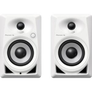 Pioneer-studio monitor-white