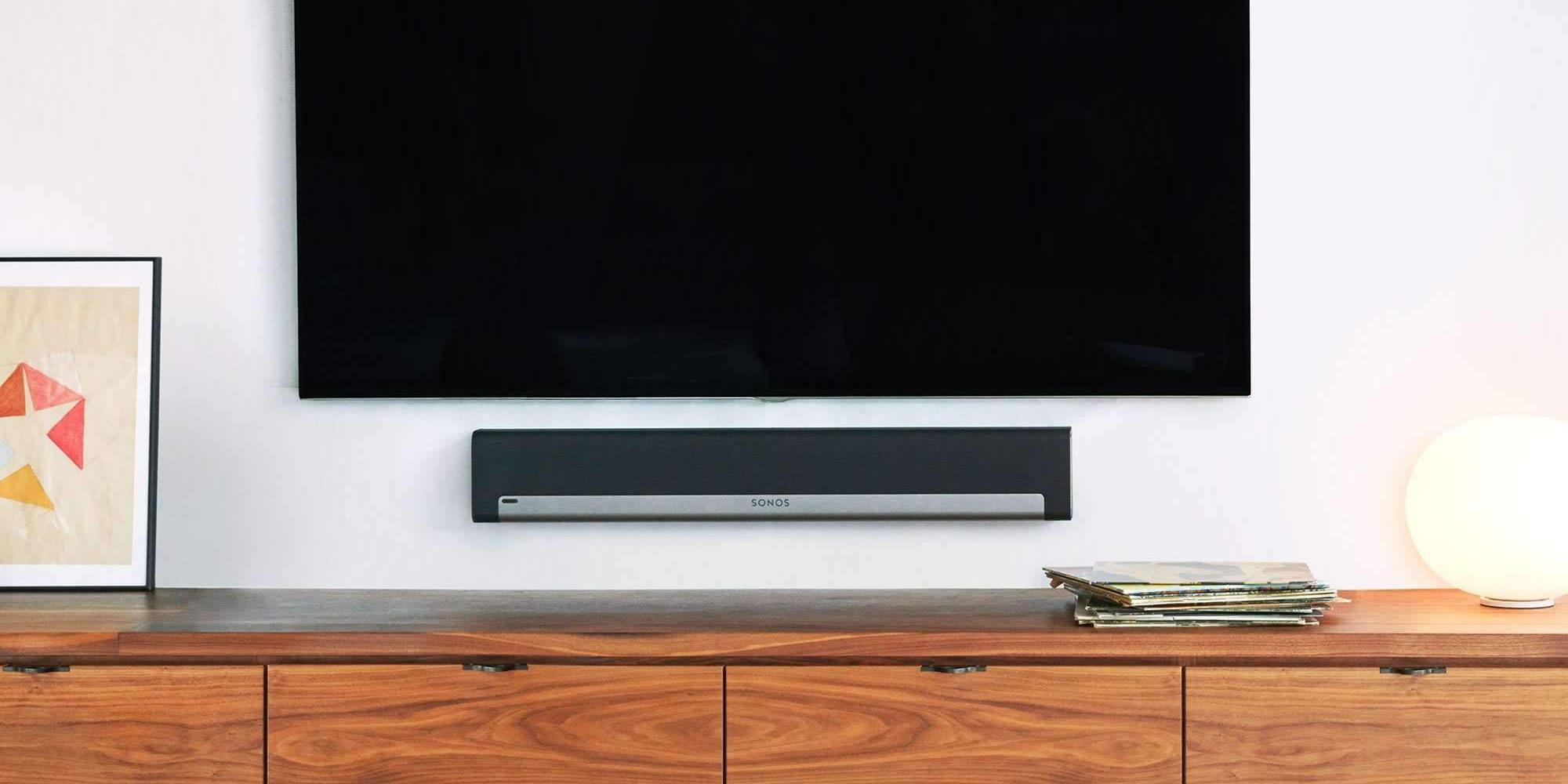 Playbar-soundbar with tv