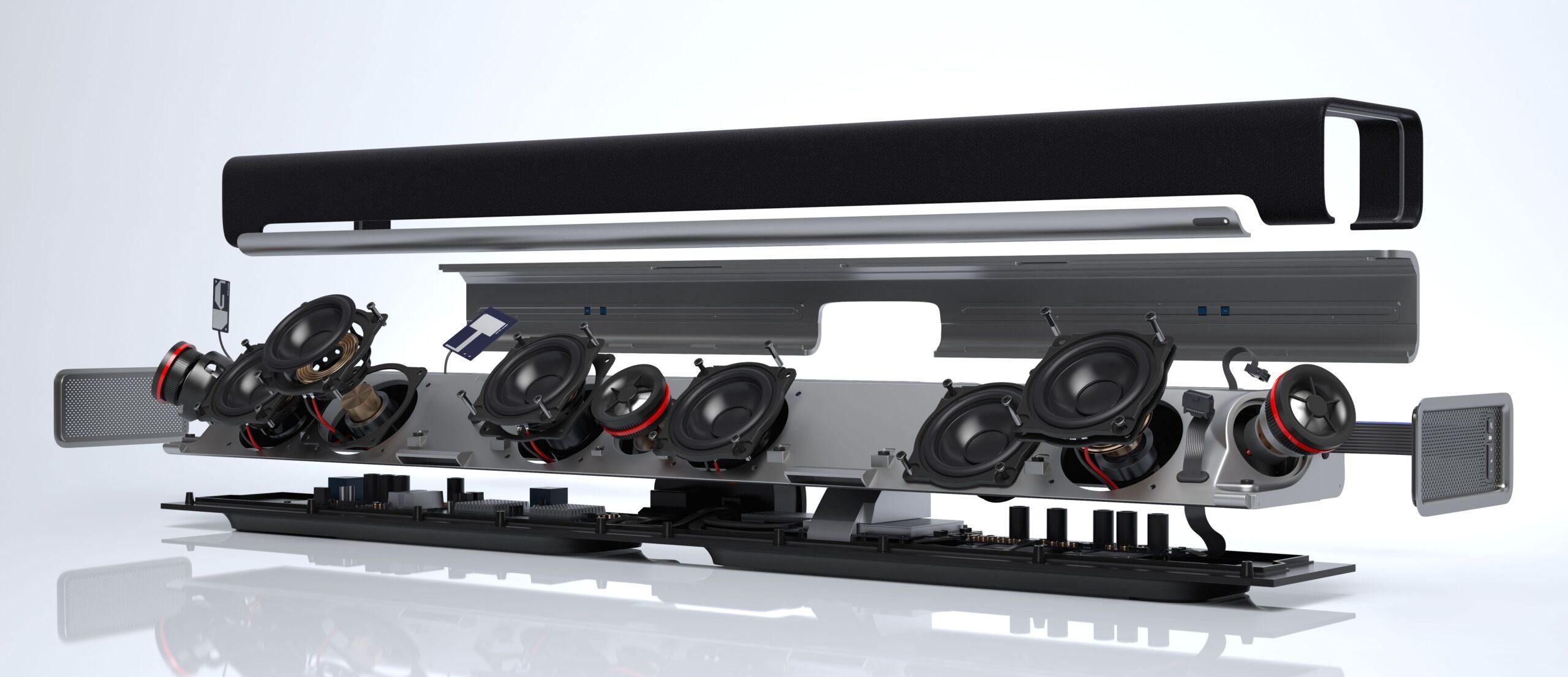 Playbar-speakers