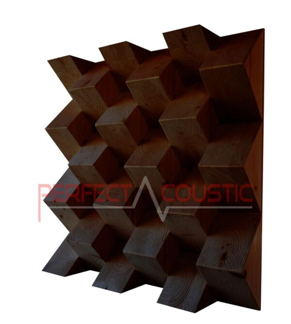 Pyramid acoustic diffuser (2)
