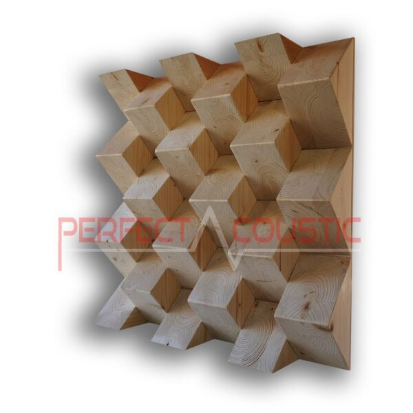 Pyramid acoustic diffuser (3)