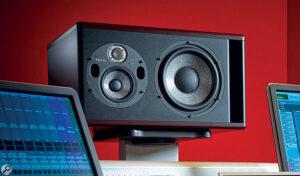 Trio11-speaker in a studio