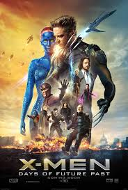 X-Men -Days of Future Past movie poster