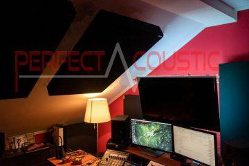 acoustic measurement of rooftop studio