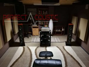 Decorative acoustic panels-acoustic treatment of home theater (2)