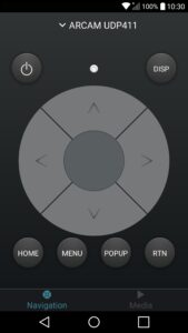 arcam-control-application for android
