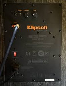 back of Klipsch
