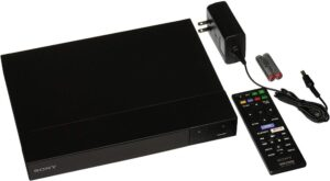 bdp-s6700-player with cable and remote control
