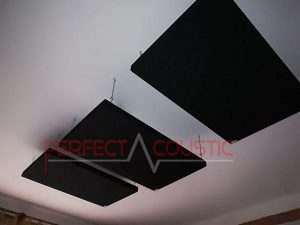 acoustic ceiling panels-installation