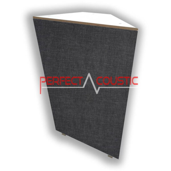 corner bass panel dark grey