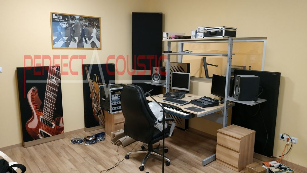 diffuser front panel acoustic panels in studio (3)