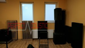 diffuser front panel acoustic panels near the wall
