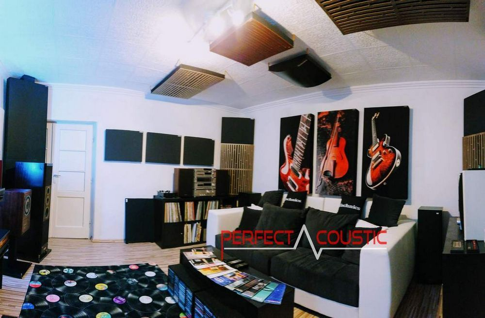 home theater acoustic design with bass absorber (3)