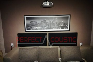 home theater acoustic design with rustic bass absorber (2)