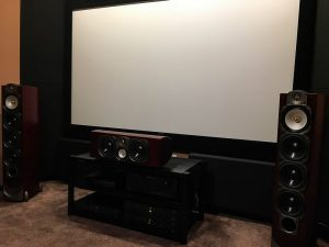 home theater acoustic design with rustic bass absorber (3)